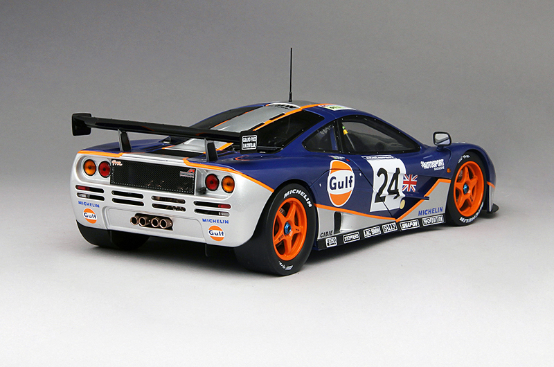 1995 McLaren F1 GTR #24 24 Hours of Le Mans, 1:18 Scale by True ...