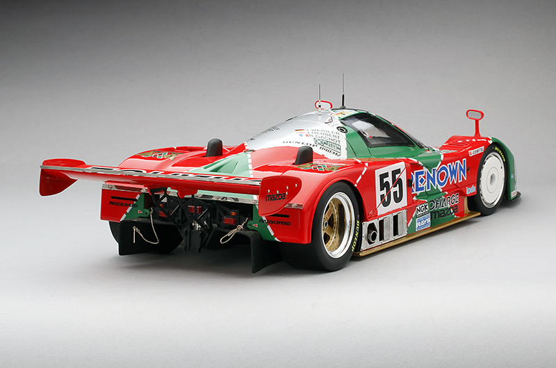 1991 mazda 787b 55 24 hours of le mans winner 1 12 scale for Garage automobile le mans