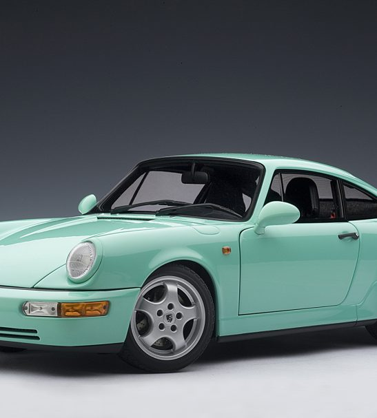 1:18 Scale Porsche 911 Carrera RS – Mint Green, by AUTOart
