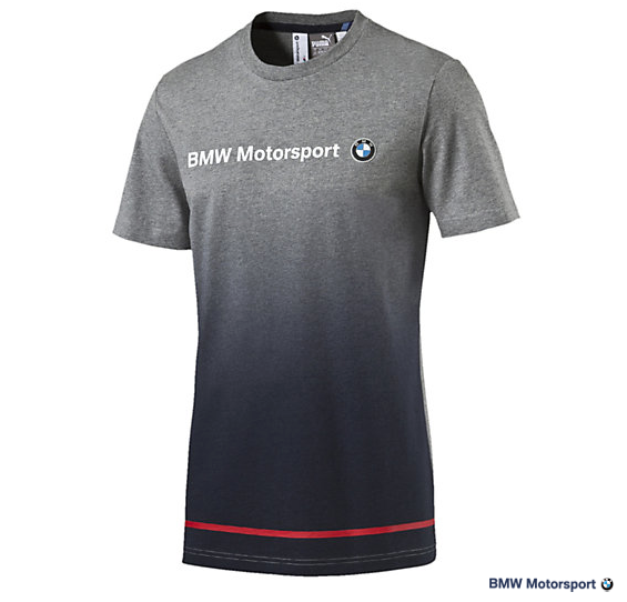 bmw motorsport logo t shirt by puma choice gear. Black Bedroom Furniture Sets. Home Design Ideas