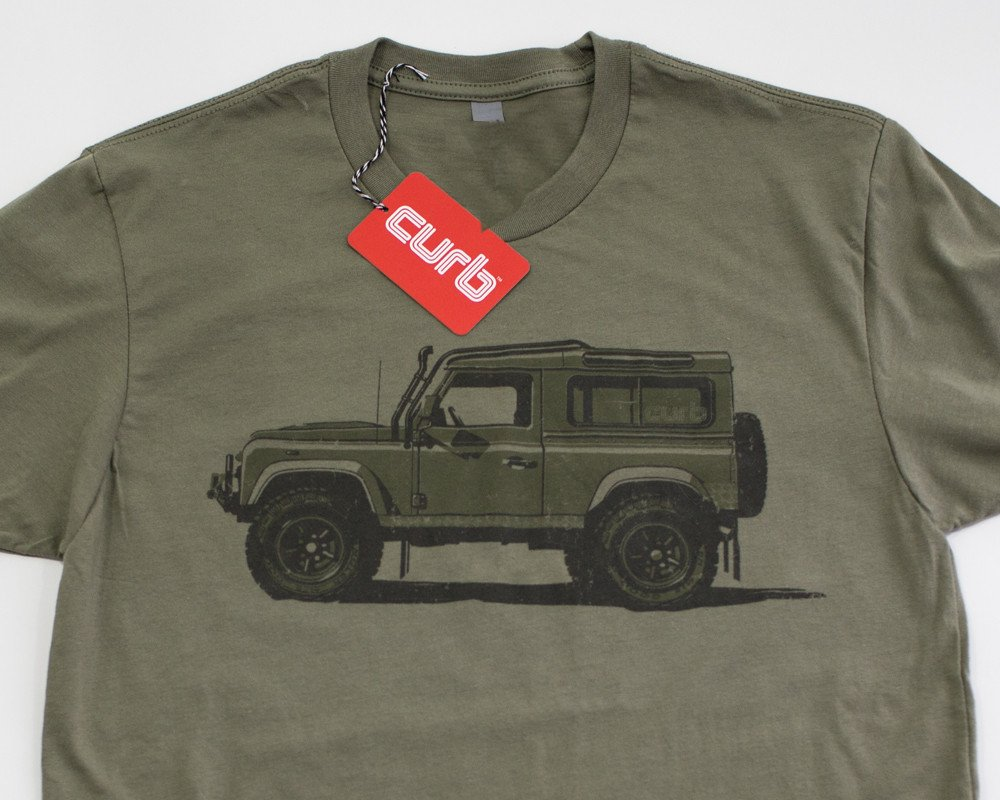 Defender 90 T-Shirt by Curb