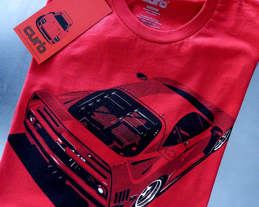Stuart Macey Designed F40 T-Shirt by Curb