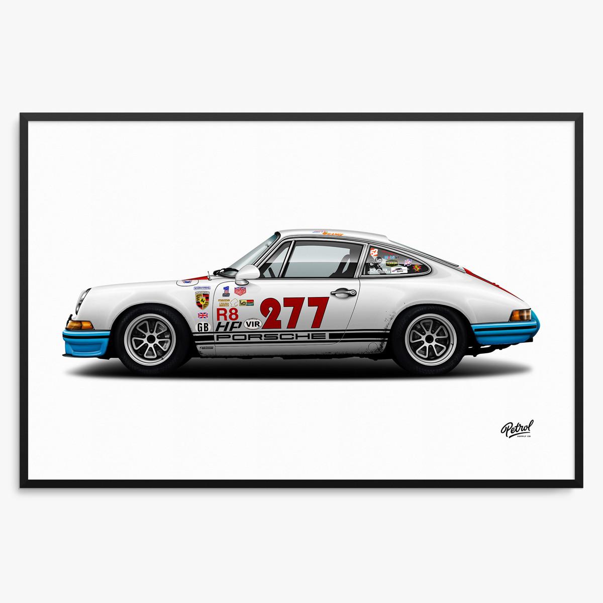 Porsche 911 Magnus Walker 277 Print by Petrol Supply Co