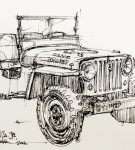 Willys Jeep print by Curb 2