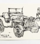 Willys Jeep print by Curb 4