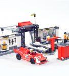Lego Pit Lane Porsche
