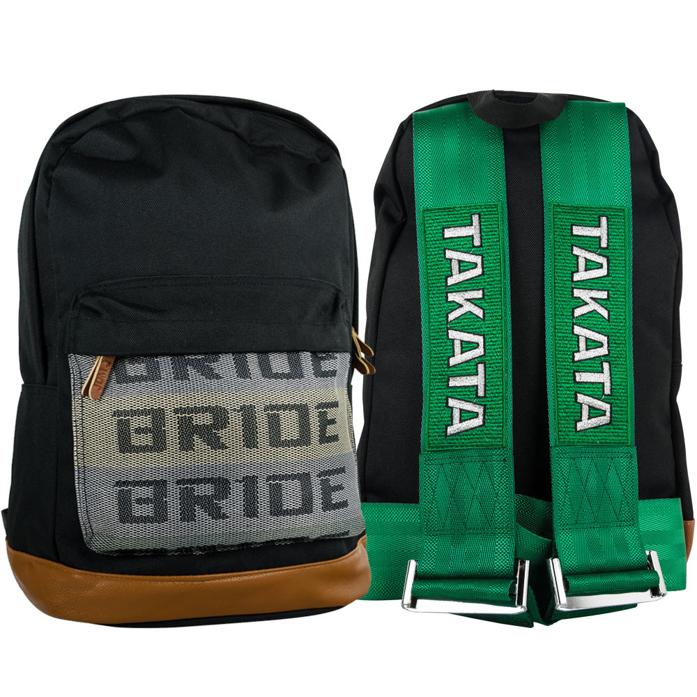 Takata-BRIDE Backpack – Green, by TunerCult