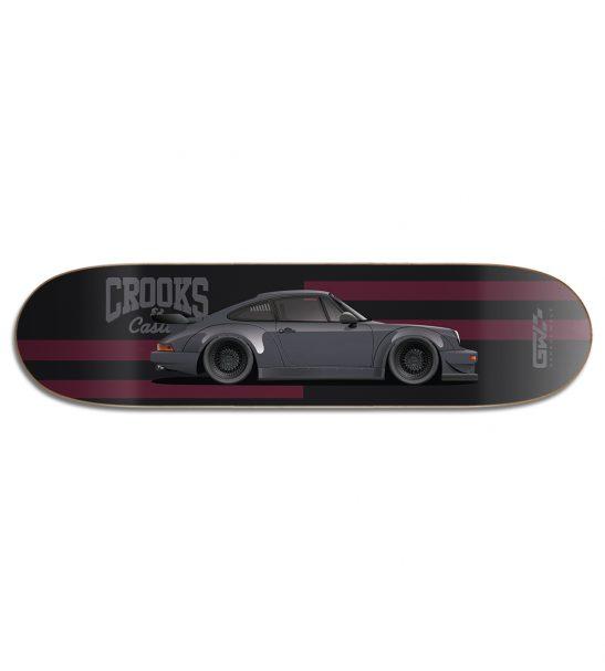 RWB No. 8 Skate Deck by Garage Welt