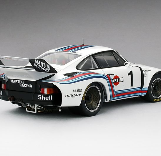 1976 Porsche 935 #1 Martini Racing, 1:18 Scale by True Scale Miniatures