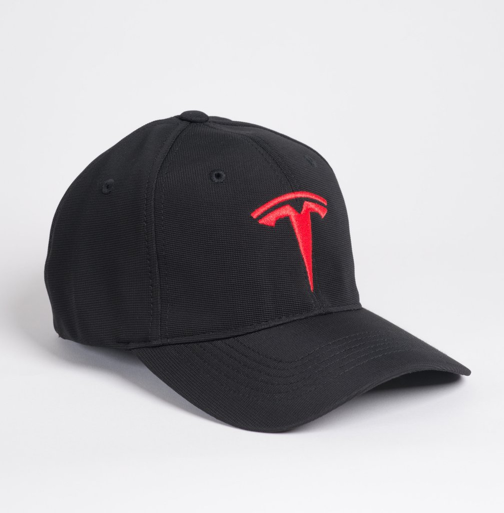 Logo Fitted Hat by Tesla - Choice Gear 95176985c61