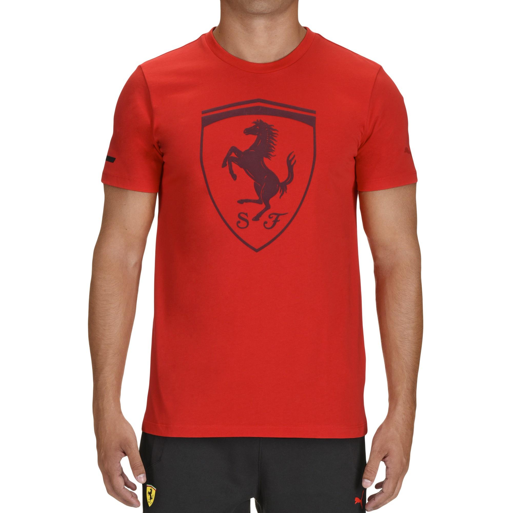 Men 39 s puma scuderia ferrari sports t shirt by ferrari for Mens sport t shirts