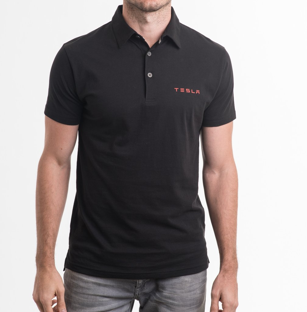 Tesla polo shirt