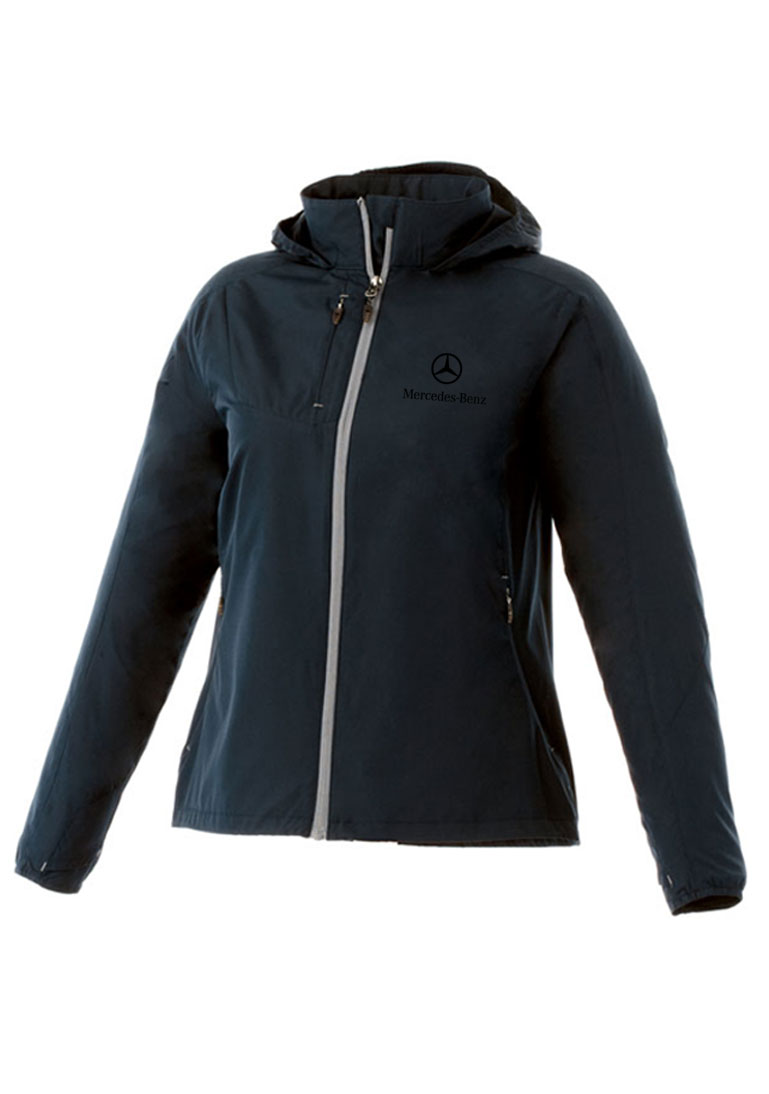Ladies rain jacket by mercedes benz choice gear for Mercedes benz jacket