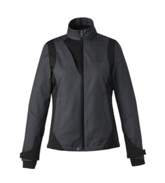 Ladies' lightweight two-tone soft shell jacket