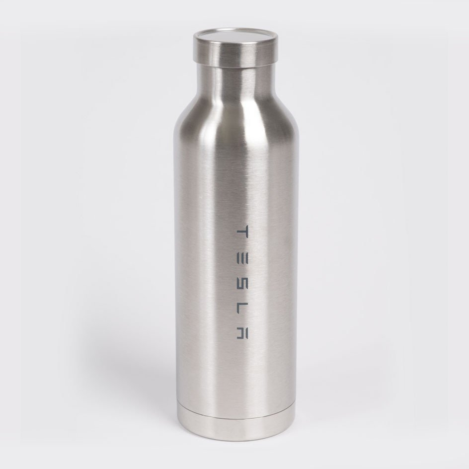 Stainless Steel Water Bottle by Tesla