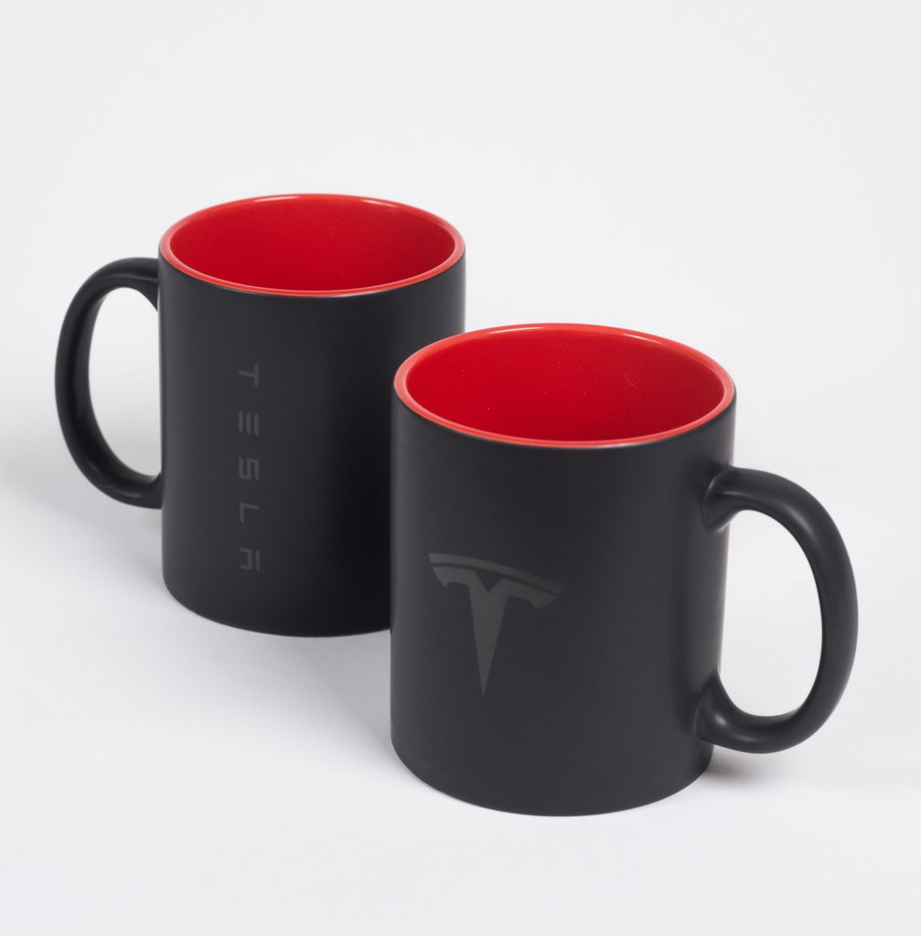 Tesla Mug Set By Tesla Choice Gear
