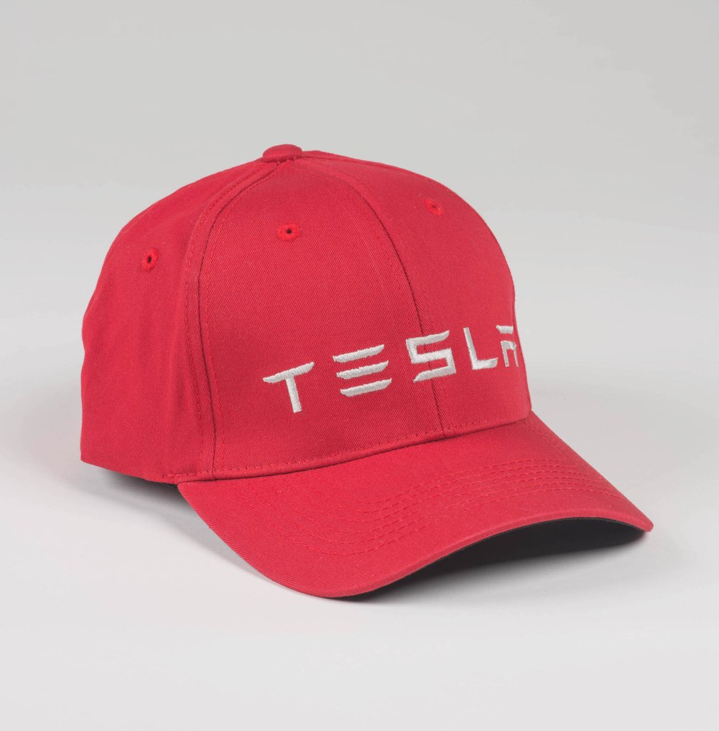 Wordmark Fitted Hat by Tesla - Choice Gear a80cc7a222c