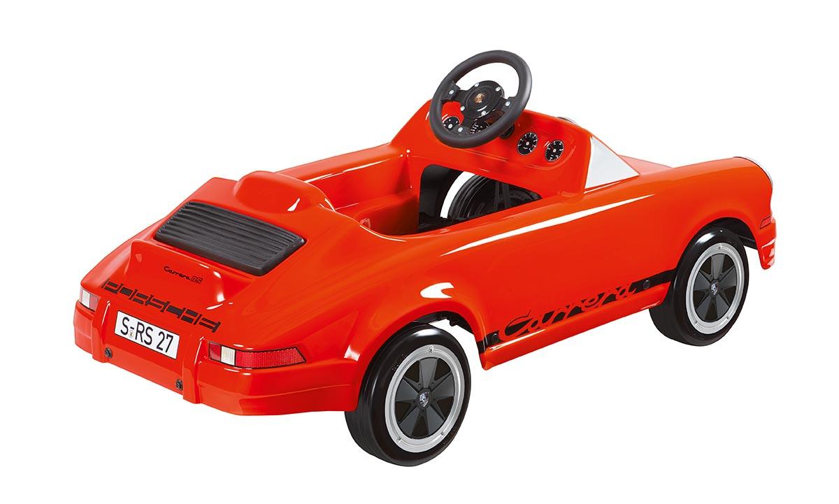 Car Detailing Supplies >> Carrera RS 2.7 Pedal Car by Porsche - Choice Gear