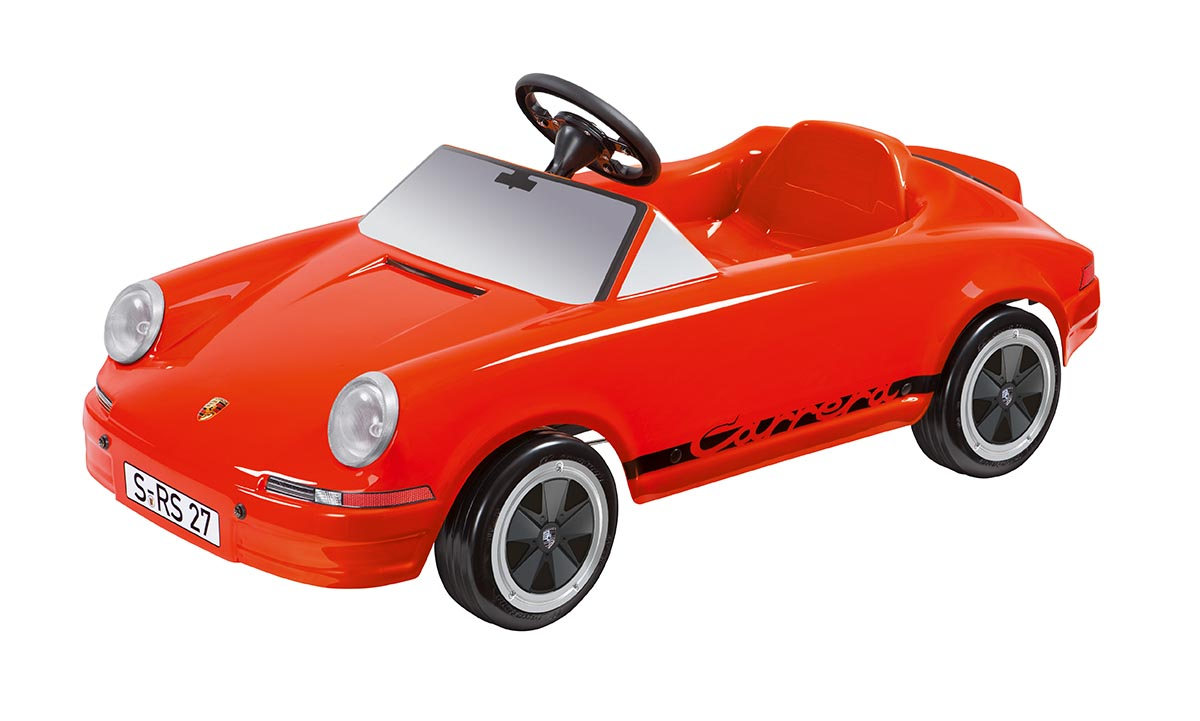 Car Detailing Supplies >> Carrera RS 2.7 Pedal Car by Porsche - Choice Gear