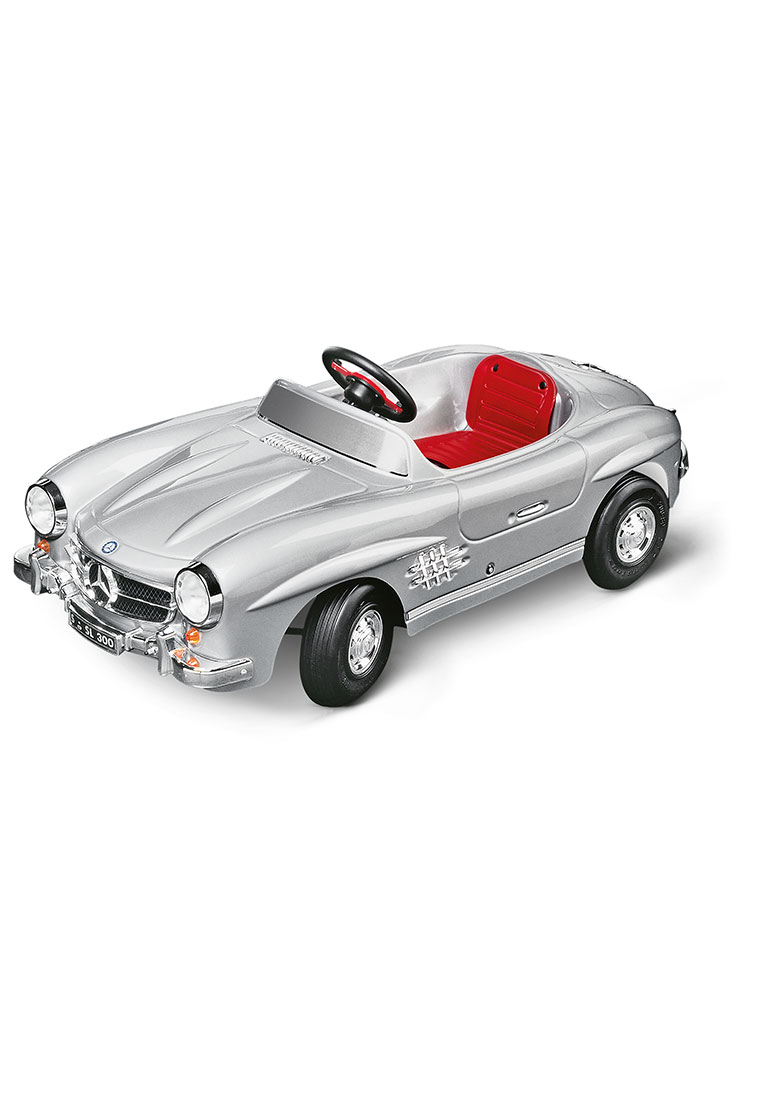 classic silver 300 sl children 39 s pedal car by mercedes