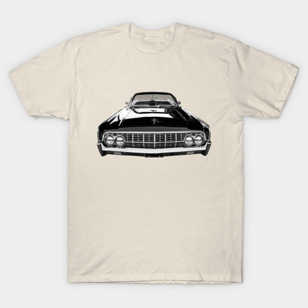 1963 lincoln continental t shirt by nyxo via teepublic choice gear. Black Bedroom Furniture Sets. Home Design Ideas