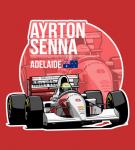 Ayrton Senna – 1993 Adelaide T-Shirt2