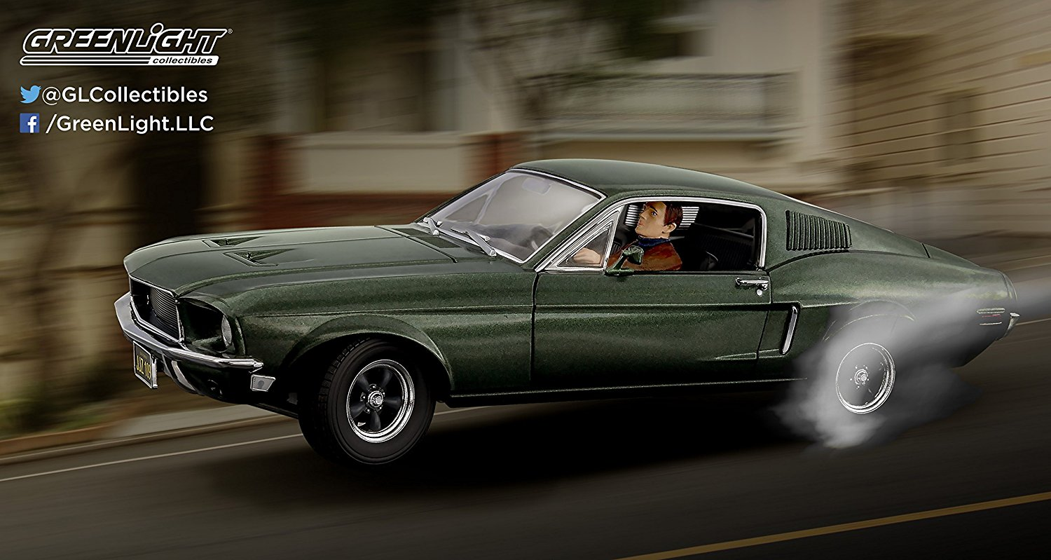 Bullitt 1968 Ford Mustang Gt Fastback By Greenlight