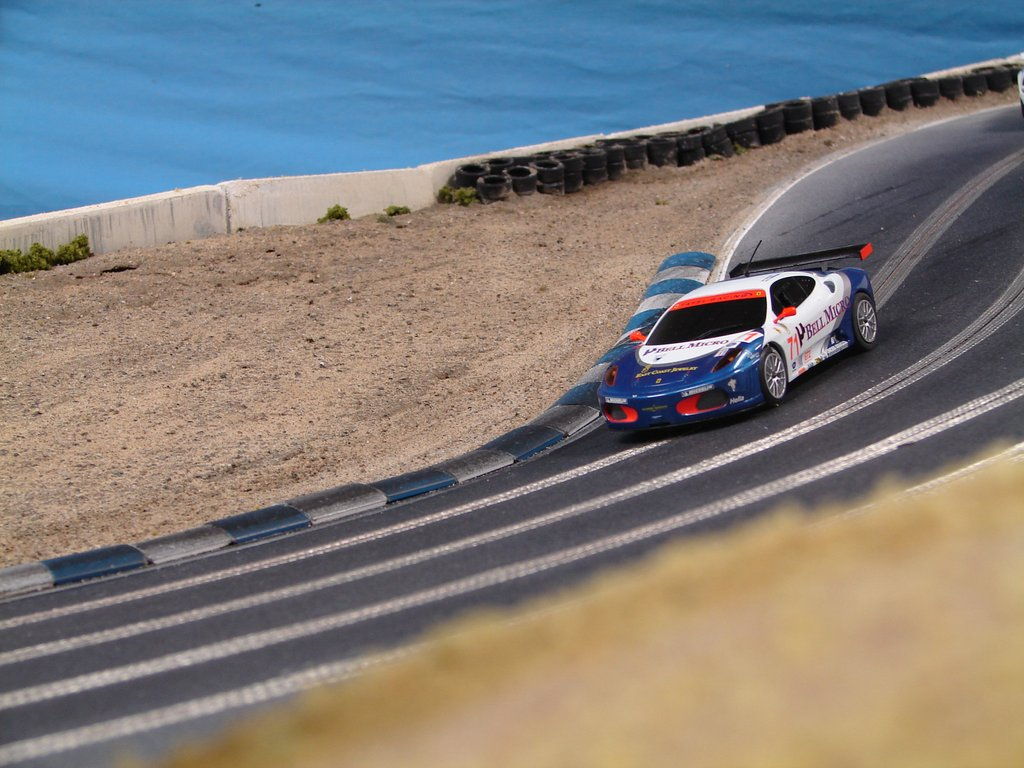 Laguna Seca Raceway by Slot Mods Raceways - Choice Gear