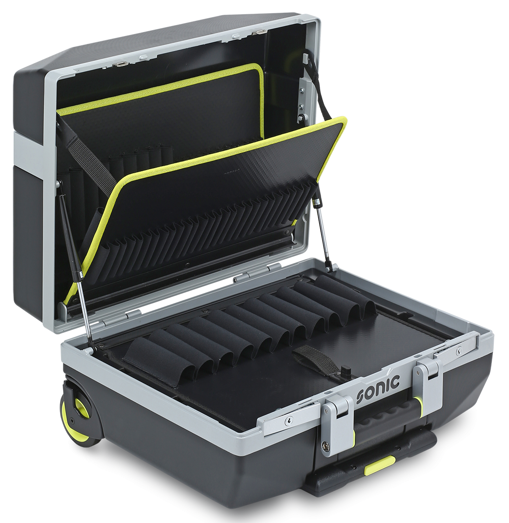 Car Detailing Supplies >> Suitcase Trolley XL with Gas Springs by Sonic Tools - Choice Gear