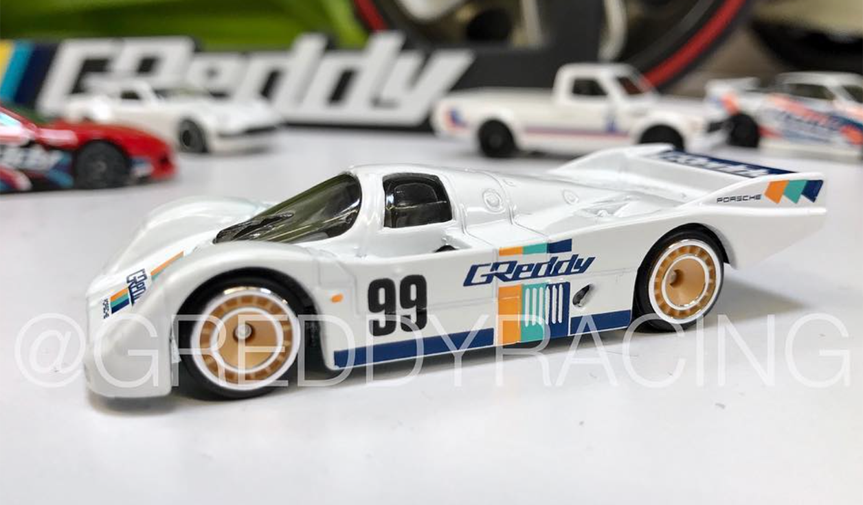 Car Detailing Supplies >> Hot Wheels & Greddy Planning Porsche 962 Diecast - Choice Gear