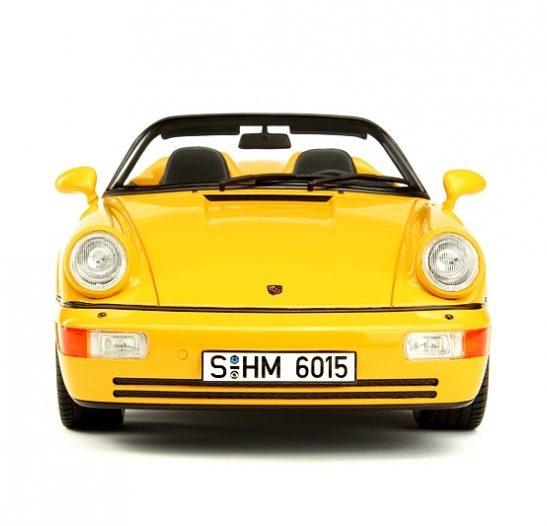 Speedster Yellow 1:18 GT Spirit Porsche 911 964