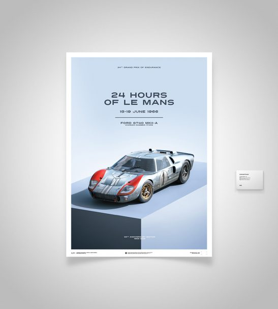 Ford GT40 – Blue