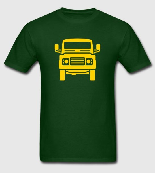 Land Rover T-Shirt by robinlund
