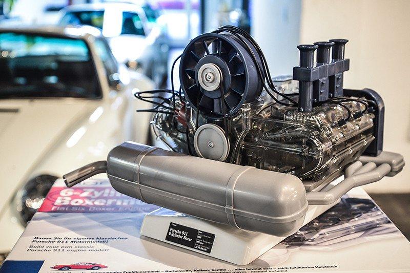 Porsche 911 Engine Model By Flat Six Fanatics 1 4 Scale