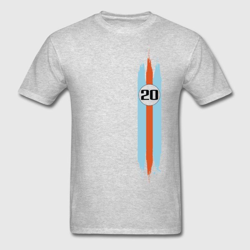 Porsche Gulf Racing T Shirt By Helvetic Shirt Choice Gear