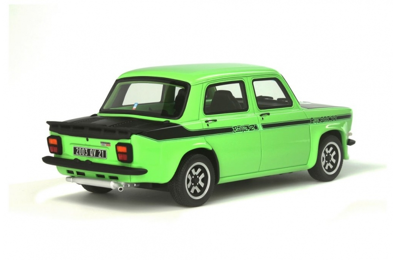 simca 1000 rallye 2 srt by otto mobile 1 18 scale choice gear. Black Bedroom Furniture Sets. Home Design Ideas