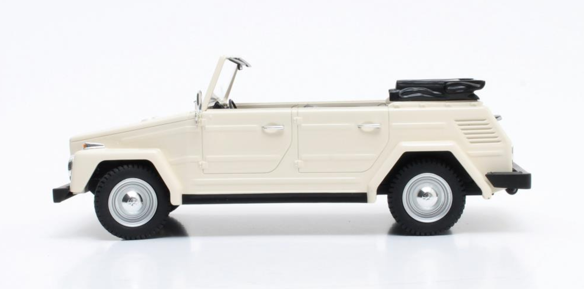 White VW Type 181 by Cult Model (1:18 scale)