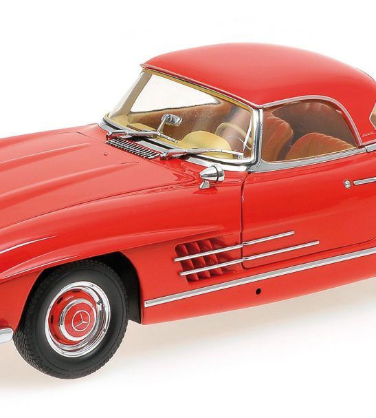 1957 Mercedes Benz 300sl Roadster W198 By Minichamps 1 18
