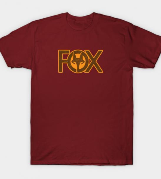 1973 Fox Orange Brown T-Shirt
