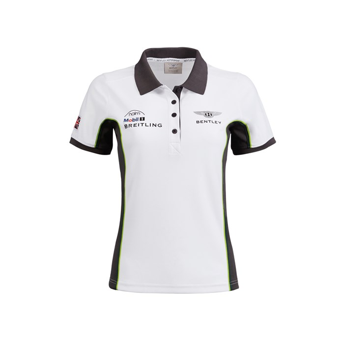 Bentley Motorsport Ladies Tech Polo Shirt By Bentley