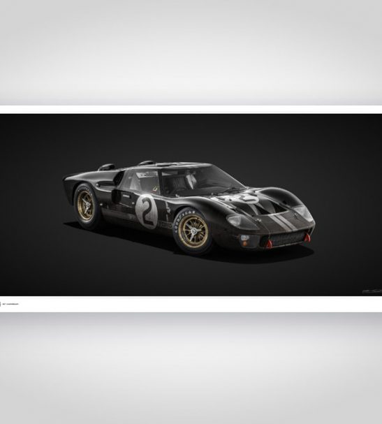 Colors of Speed – Ford GT40 Black