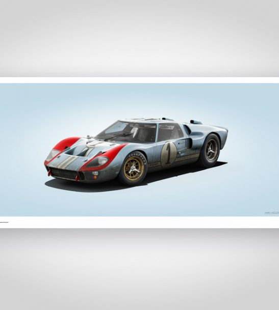 Colors of Speed – Ford GT40 Blue