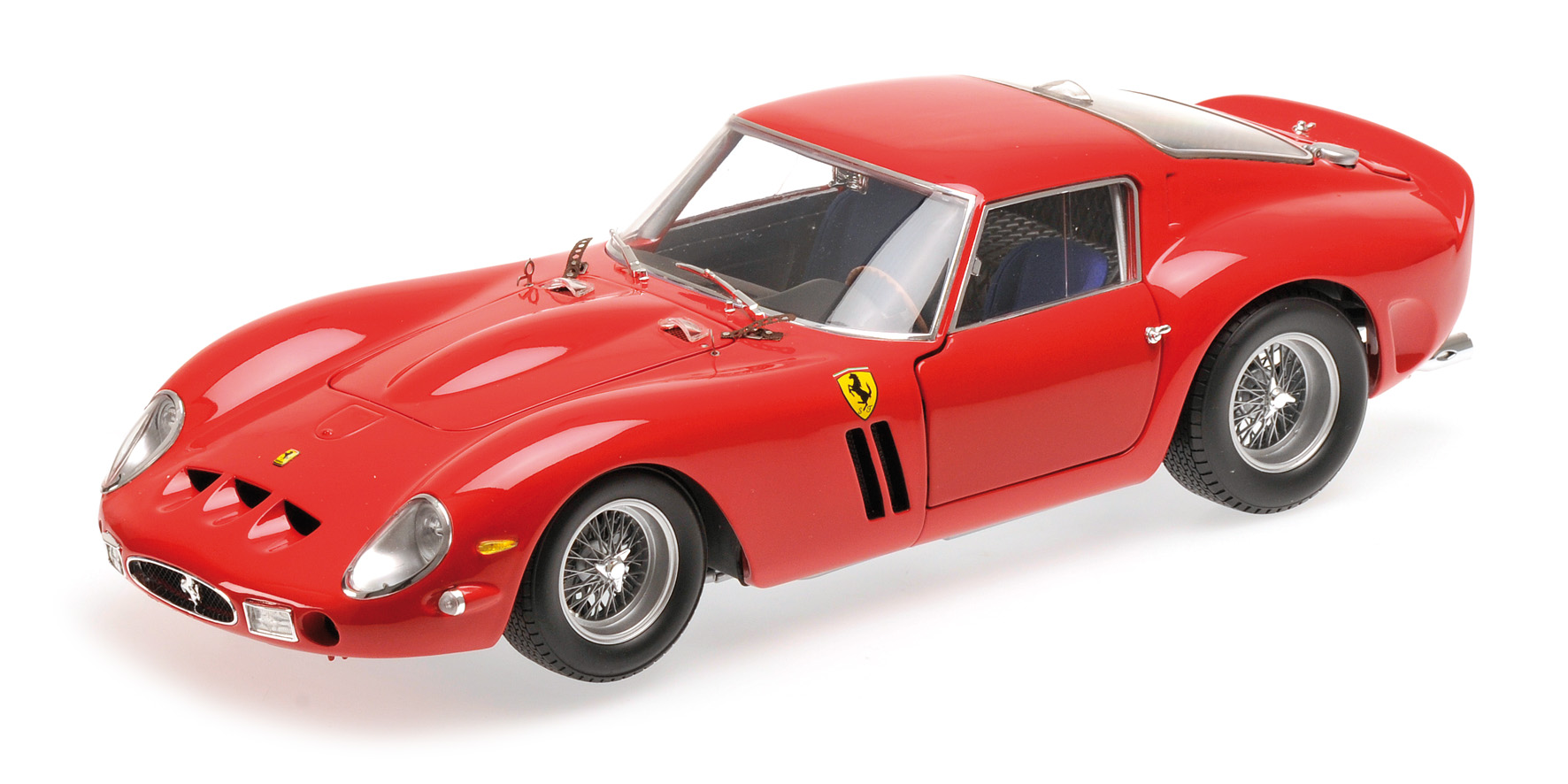 1962 red ferrari 250 gto by minichamps 1 18 scale choice gear. Black Bedroom Furniture Sets. Home Design Ideas