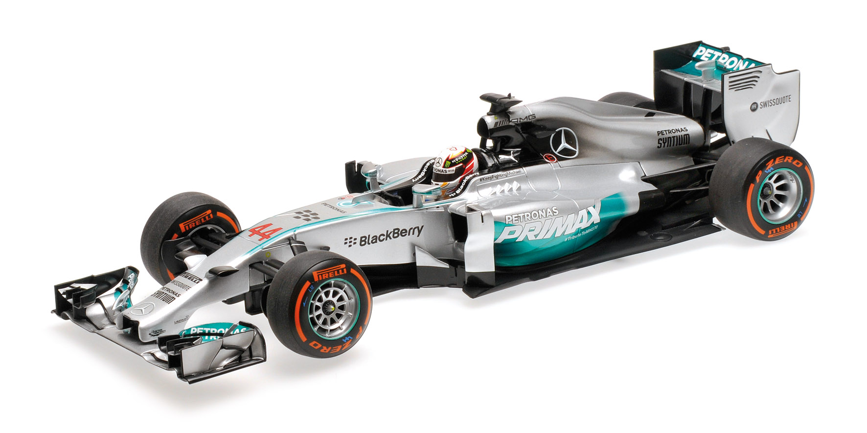 Mercedes amg petronas f1 lewis hamilton by minichamps 1 for Mercedes benz f1 shop