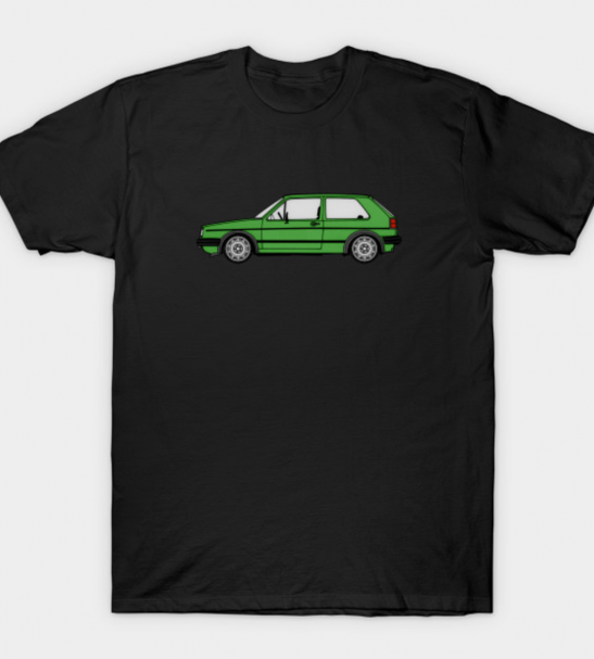 MK2 Golf Westy Green T-Shirt