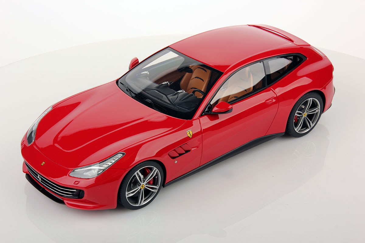 Red Ferrari Gtc4 Lusso By Mr Collection 1 18 Scale