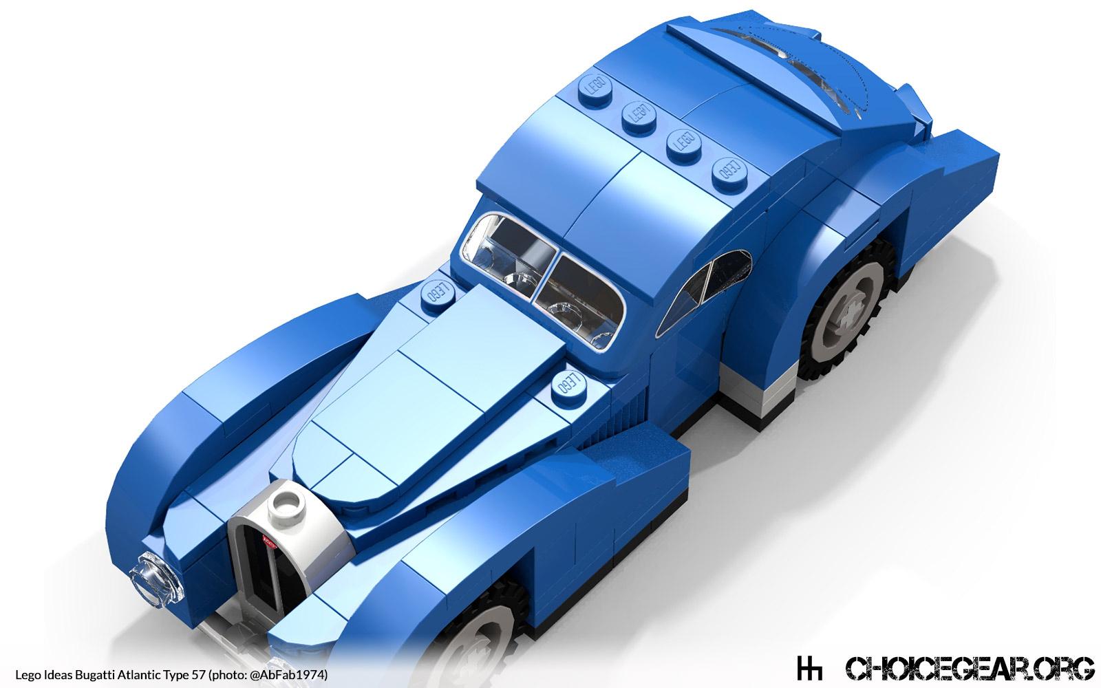 lego ideas speed champions bugatti atlantic type 57 choice gear. Black Bedroom Furniture Sets. Home Design Ideas