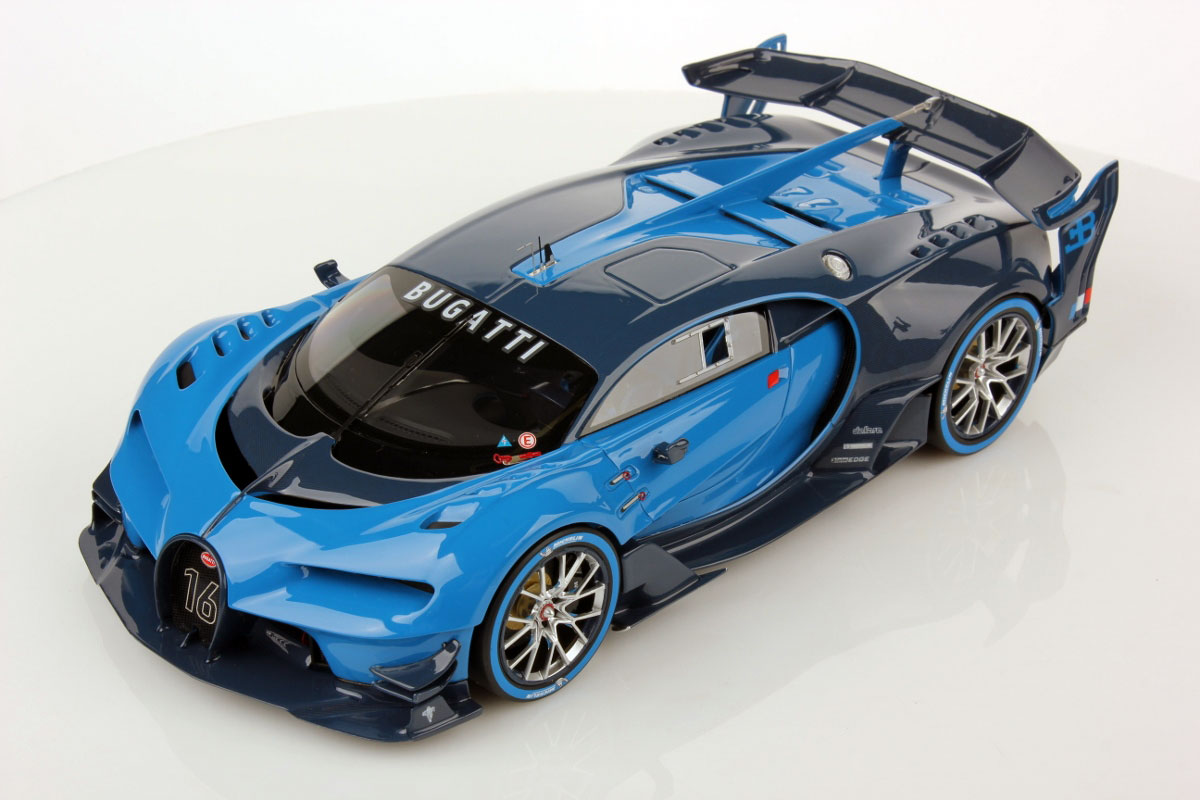 Bugatti Vision Gt By Mr Collection 1 18 Scale Choice Gear