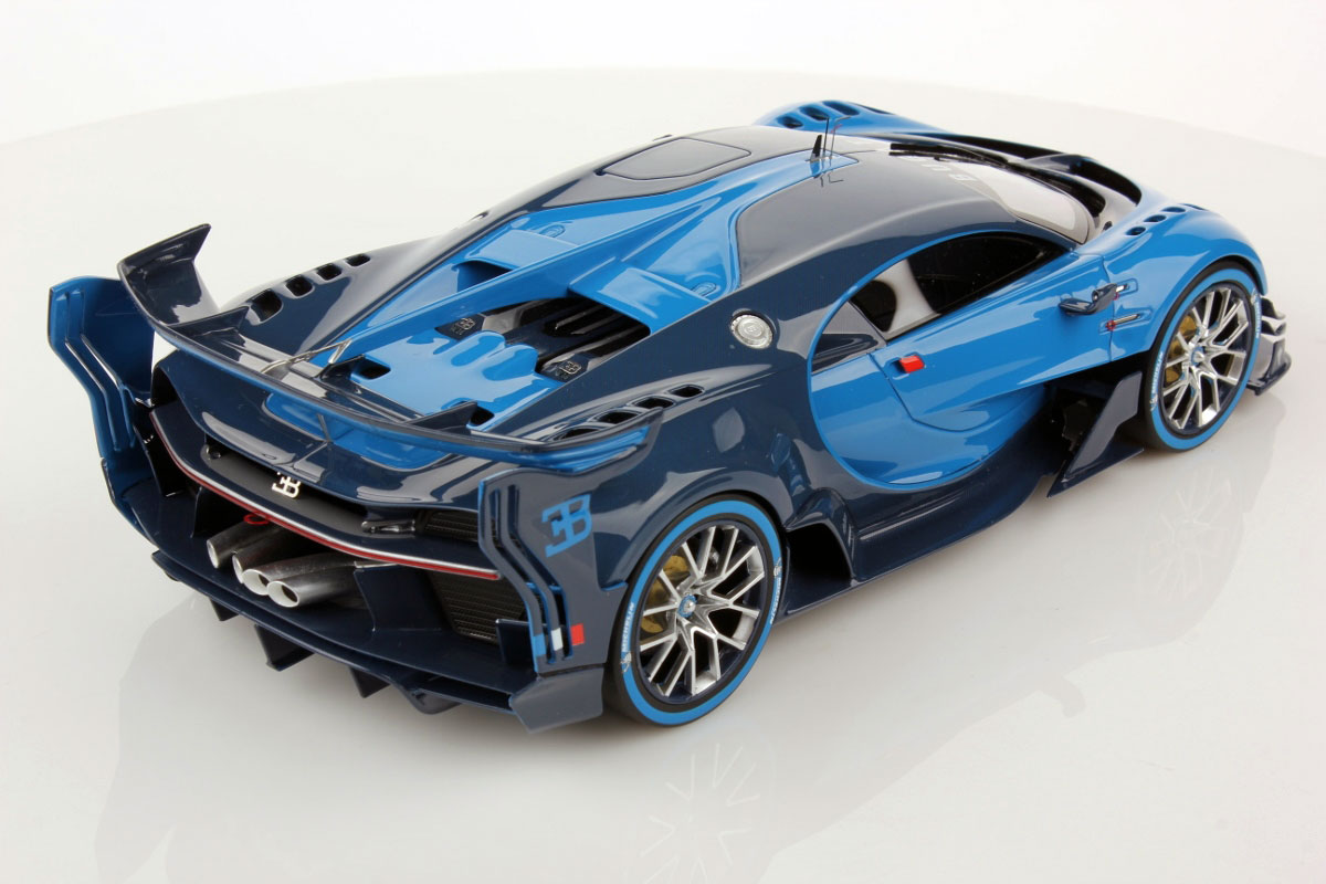 Car Detailing Supplies >> Bugatti Vision GT by MR Collection (1:18 scale) - Choice Gear