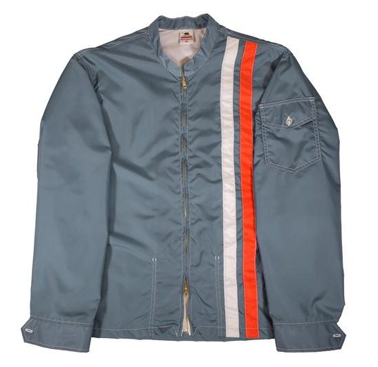 Federal Blue and Orange Racing Jacket by Birdwell Beach Britches